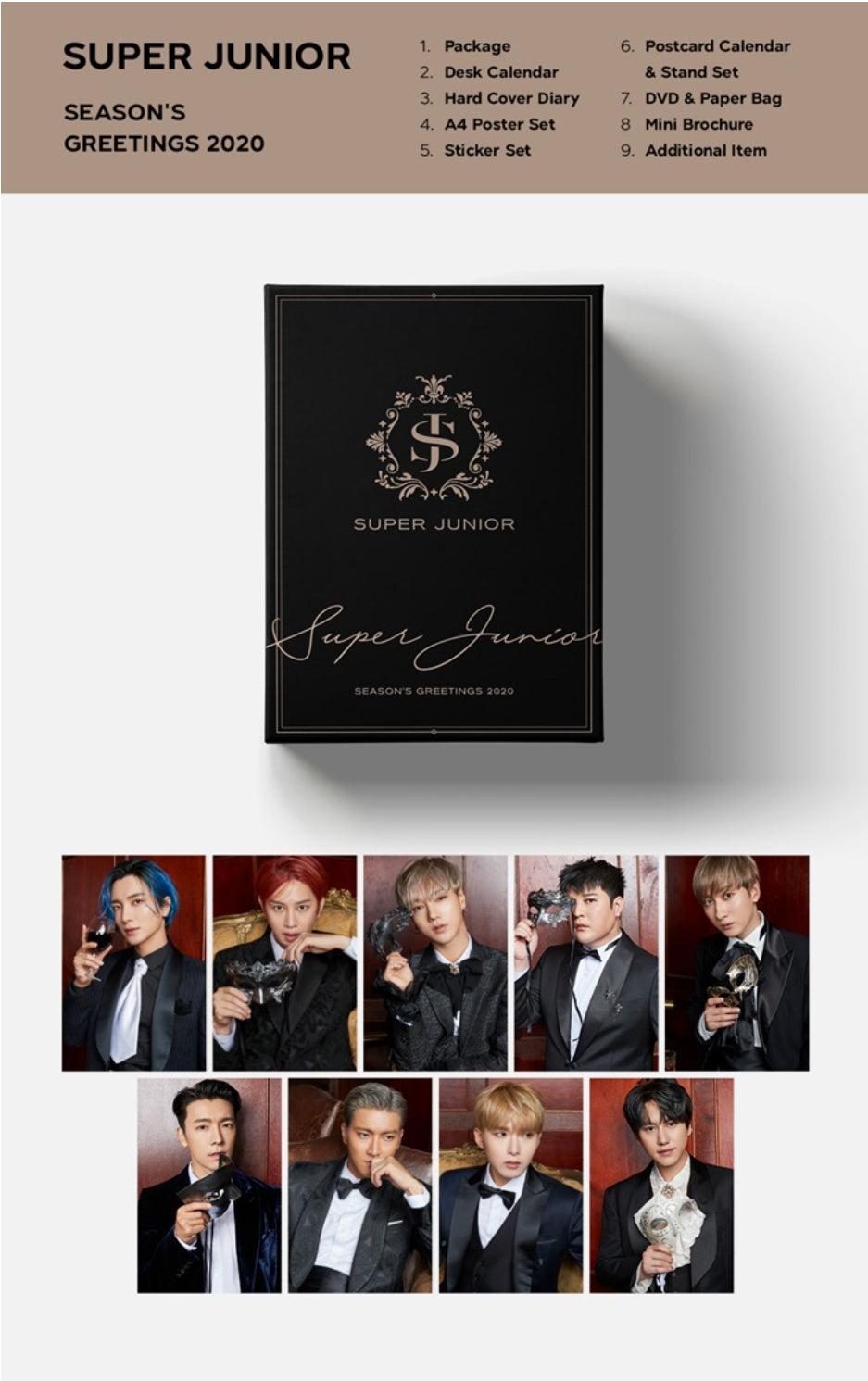 Super Junior - 2020 Season's Greetings - Pre-Order