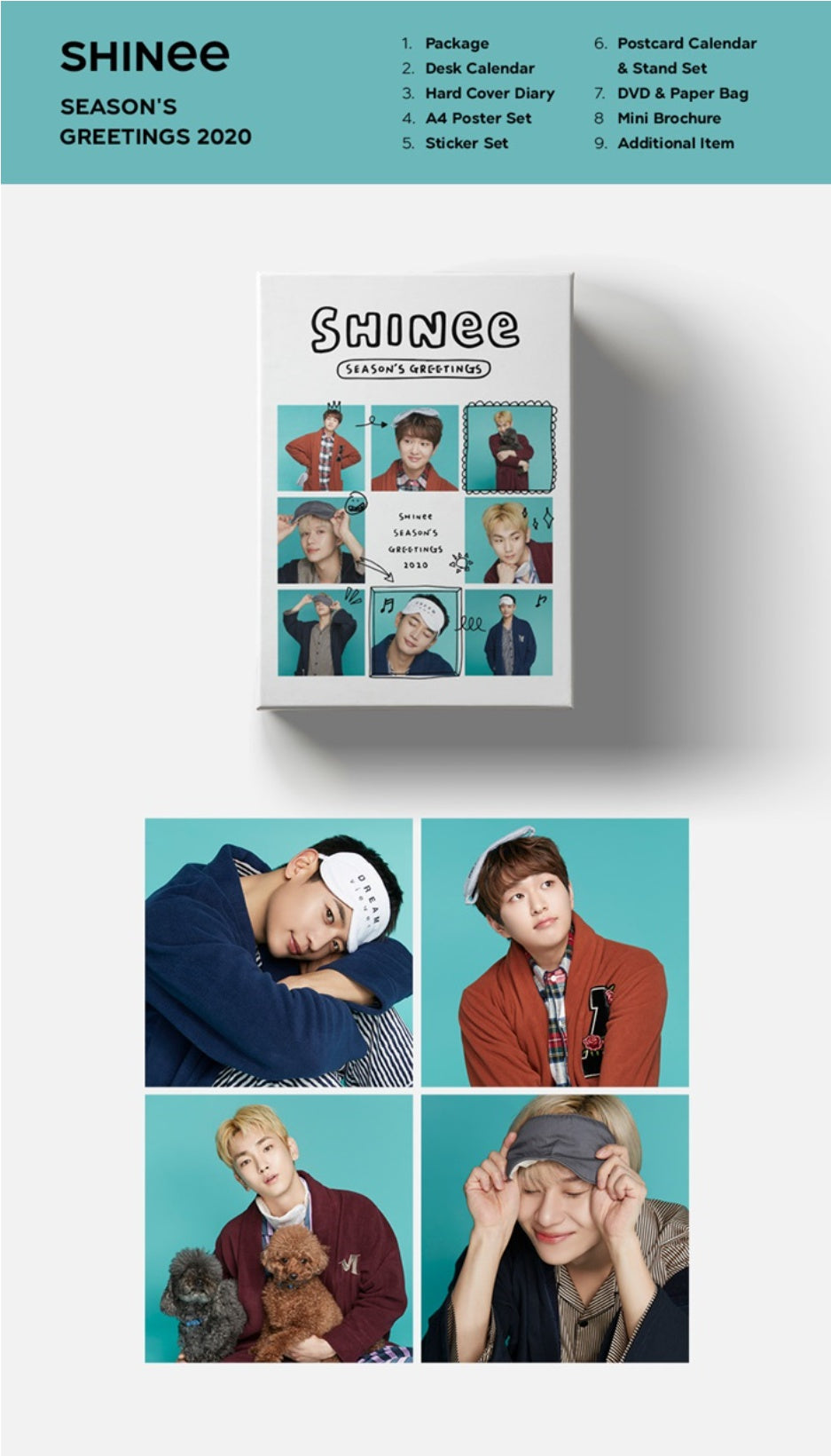 Shinee - 2020 Season's Greetings - Pre-Order