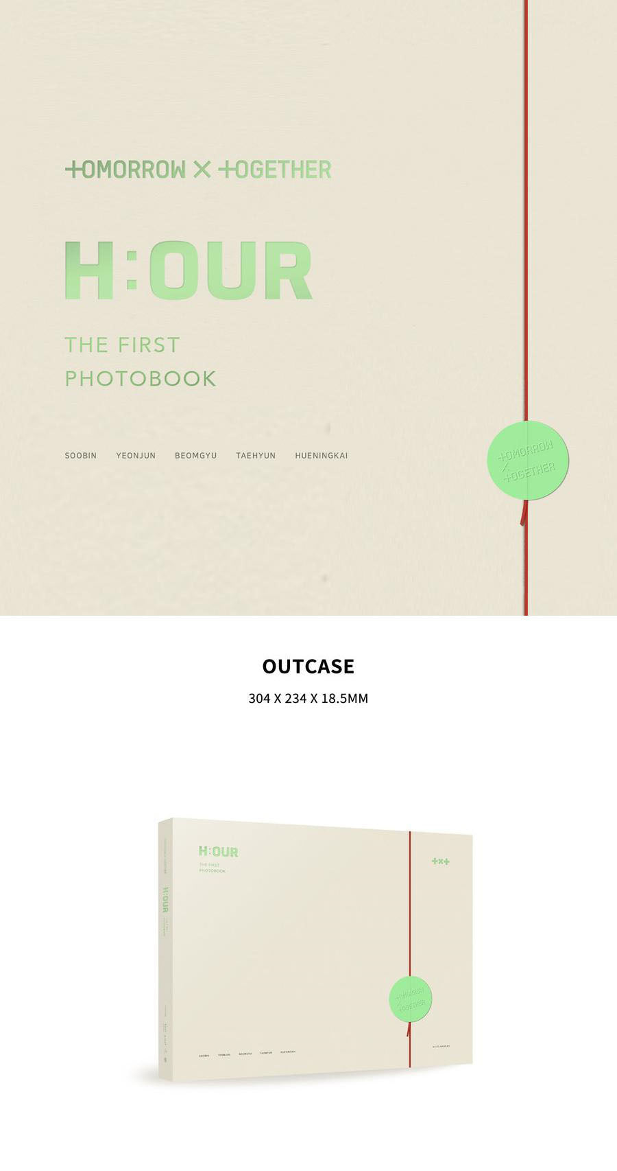 TXT: The First Photobook - H:OUR - J-Store Online