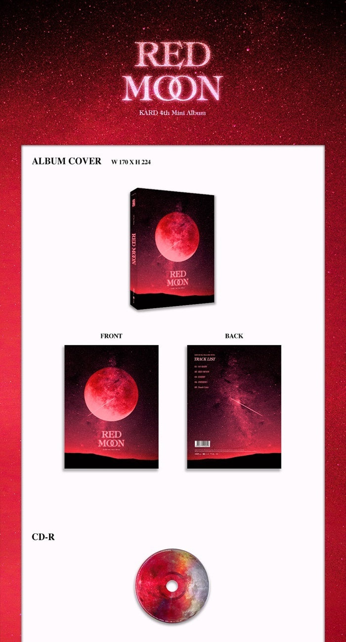 KARD - Red Moon - J-Store Online