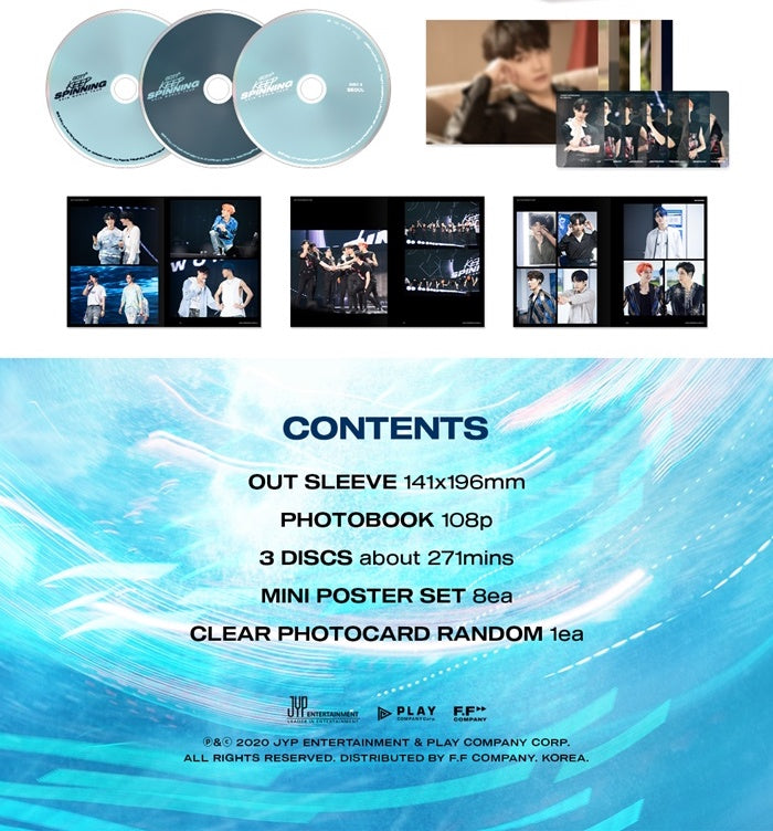 GOT7 - GOT7 2019 World Tour (Keep Spinning) - 3 DVDs - Pre-Order - J-Store Online