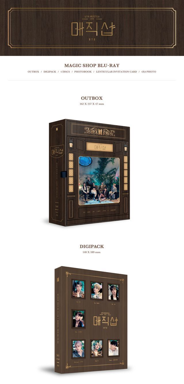 BTS - BTS 5th Muster (Magic Shop) - Blu Ray - Pre-Order - J-Store Online