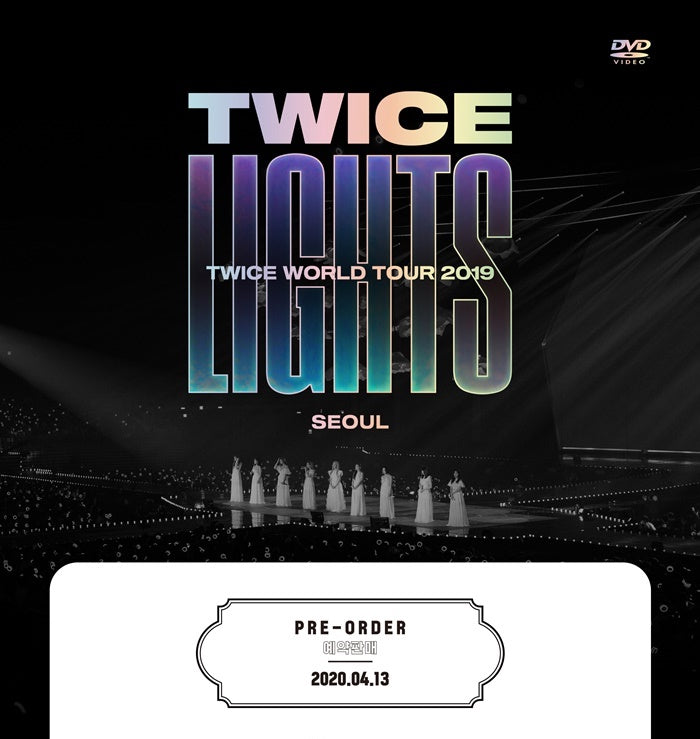 TWICE - Twice World Tour 2019 - TWICELIGHTS - In Seoul (2 DVDs) - J-Store Online