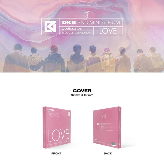 DKB - LOVE - 2nd Mini Album - J-Store Online
