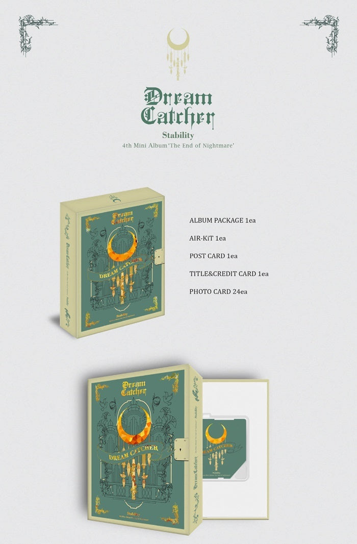 Dreamcatcher - The End of Nightmare (4th Mini Album) - Kit Album - J-Store Online