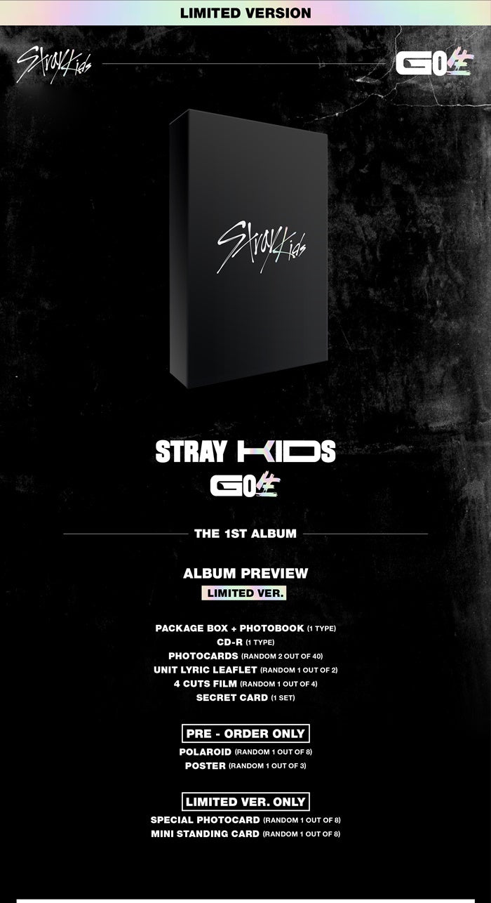 Stray Kids - GO: 生 (Limited Edition) - Pre-Order - J-Store Online