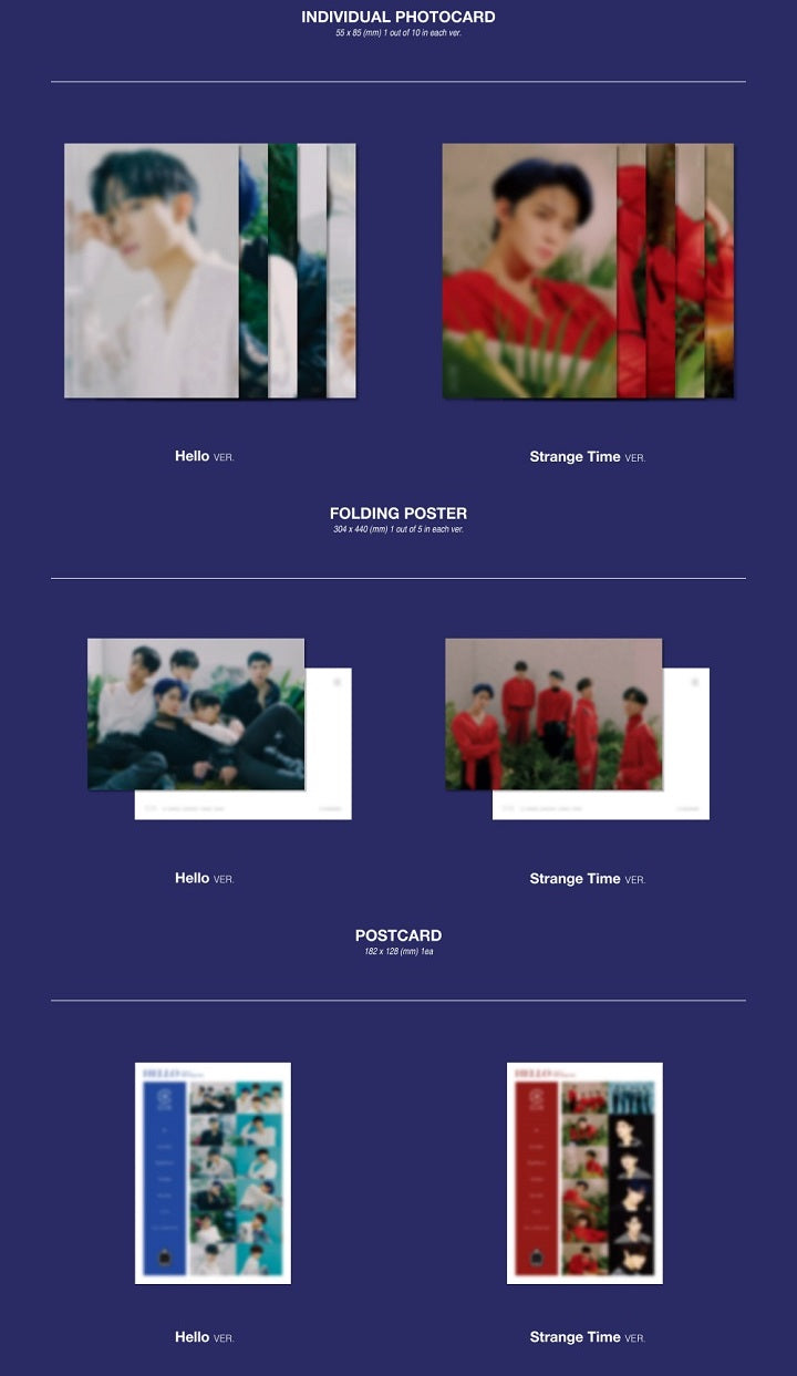 CIX - Hello Chapter 3: Hello, Strange Time - Pre-Order - J-Store Online