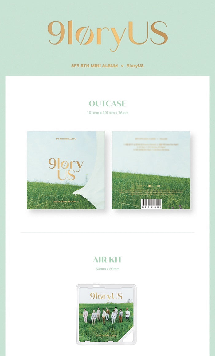 SF9 - 9LORYUS - Kit Album - J-Store Online
