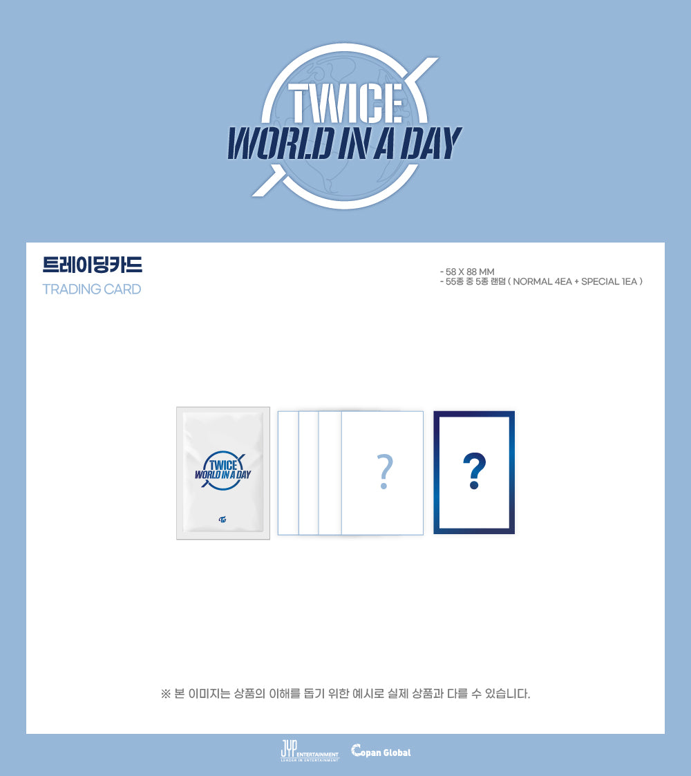 TWICE - 2020 World In A Day (Trading Cards Set)