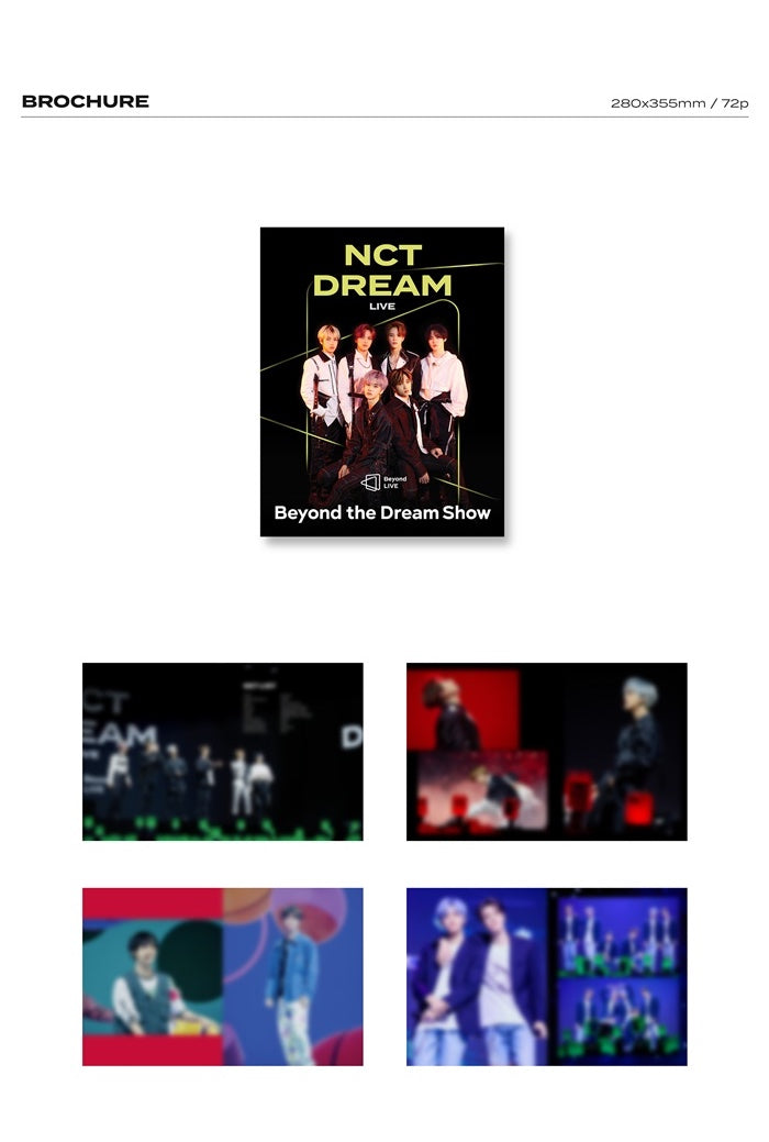 NCT Dream - Beyond The Future: Beyond Live Brochure Photobook
