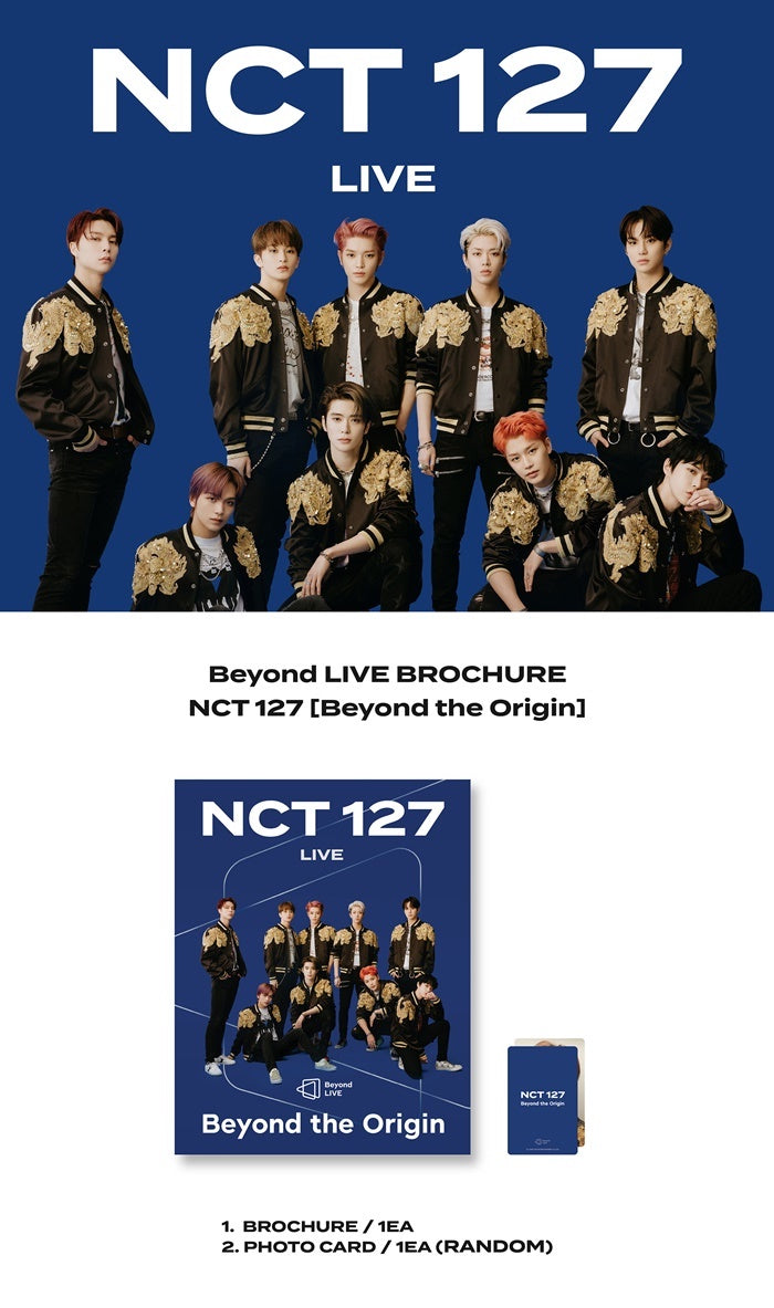 NCT 127 - Beyond The Future: Beyond Live Brochure Photobook