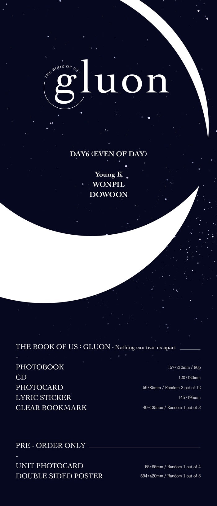 DAY6 - The Book Of Us: GLUON - Nothing Can Tear Us Apart