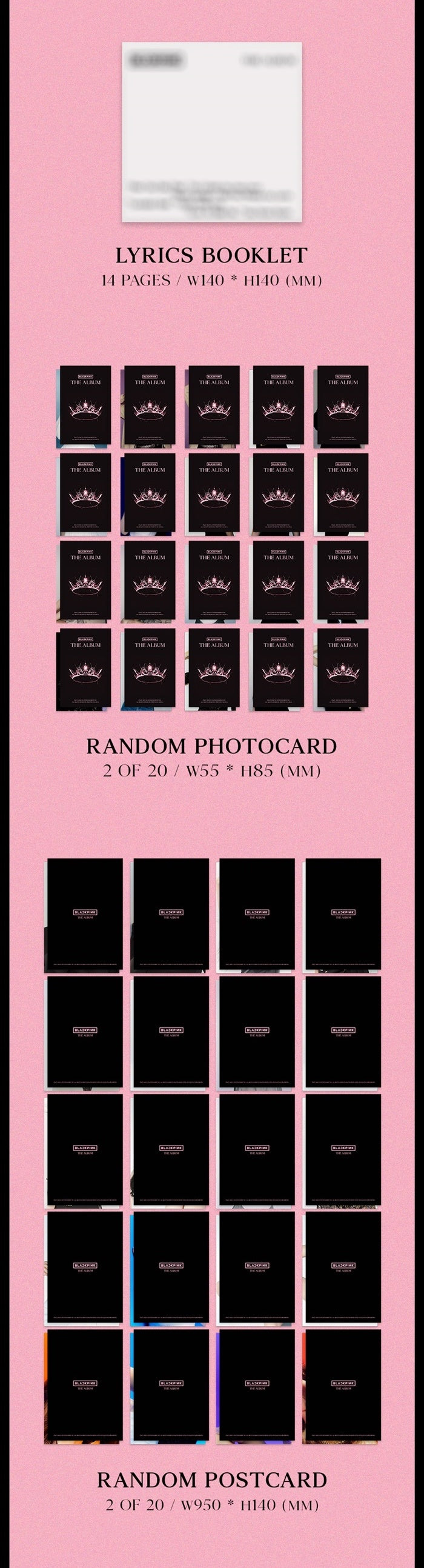 BLACKPINK - The Album - Pre-Order