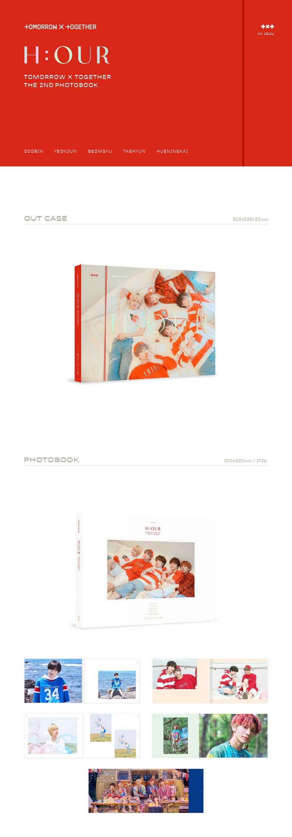 TXT (Tomorrow X Together) - The 2nd Photobook H:OUR - Pre-Order