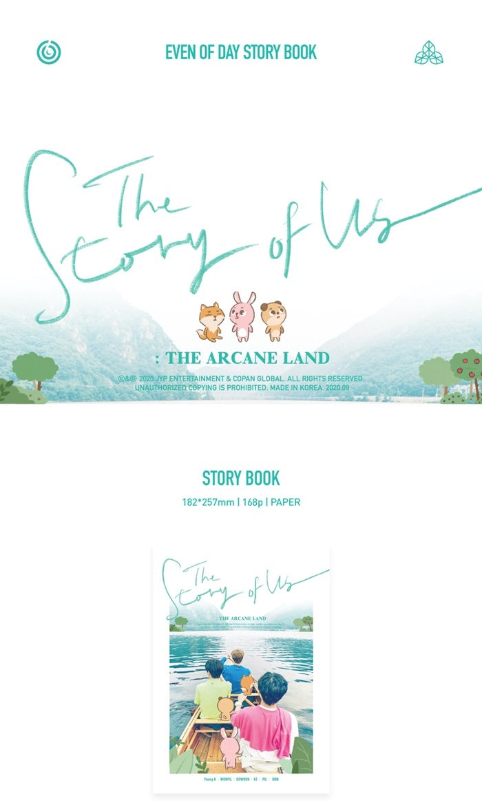 DAY6 - Even of Day Story Book - The Story of Us: Arcane Land
