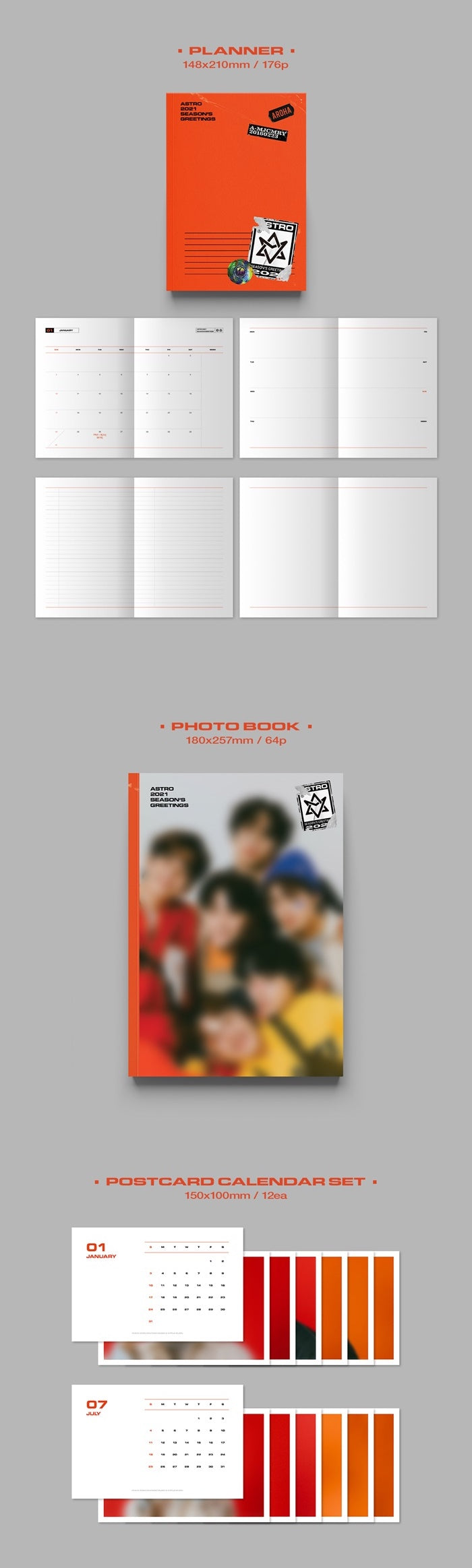 Astro - 2021 Season's Greetings - Ready Version - Pre-Order