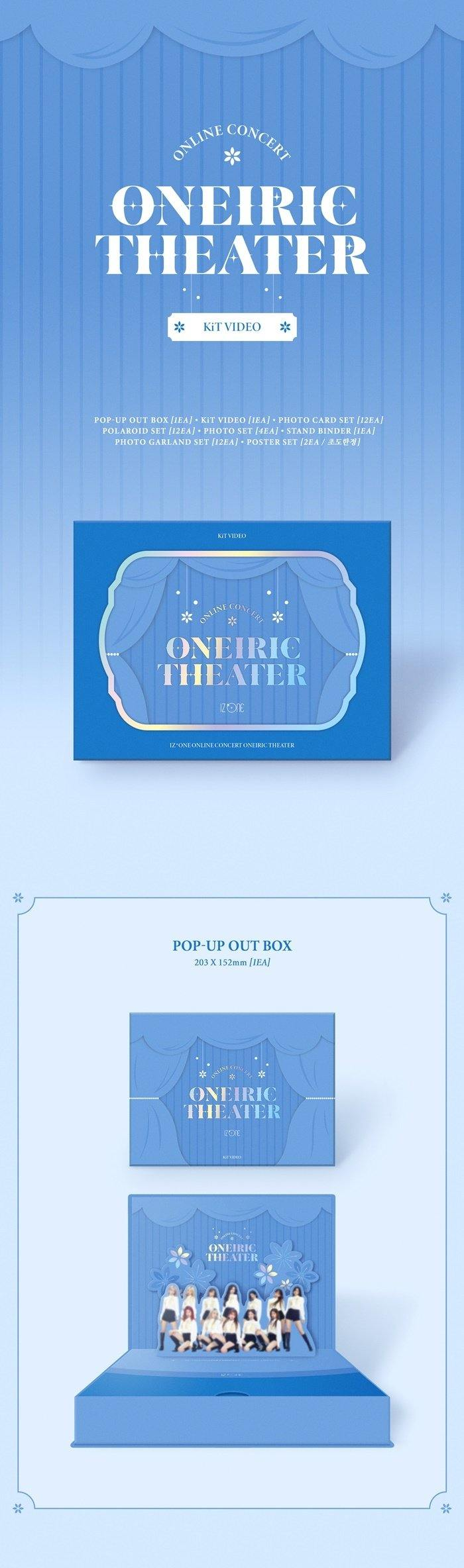 IZ*ONE - Oneiric Theater (Online Concert) - Kit Video - Pre-Order