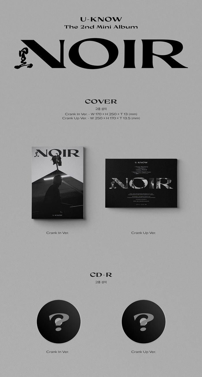 U-KNOW - Noir (2nd Mini Album) - J-Store Online