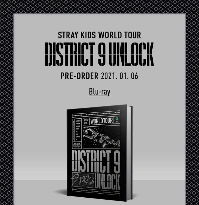 Stray Kids - World Tour 'District 9 : Unlock' in SEOUL BLU-RAY