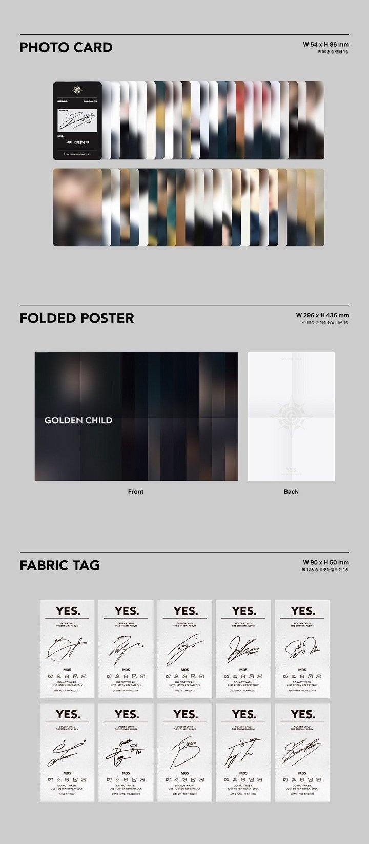 Golden Child - Yes. - 5th Mini Album - Pre-Order