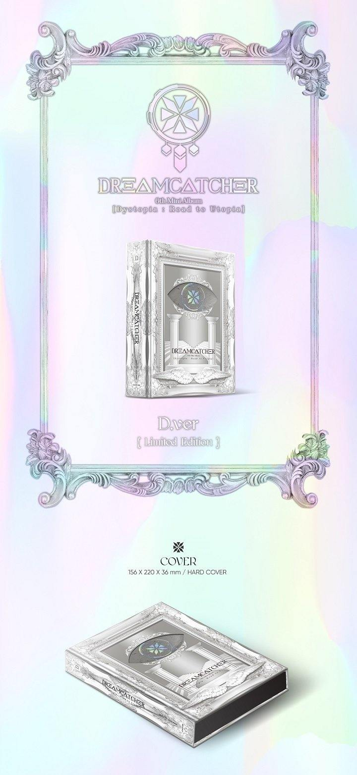 Dreamcatcher - Dystopia: Road To Utopia - D Version (Limited Edition) - Silver