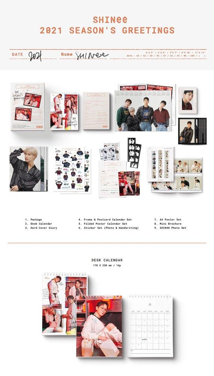 SHINee - 2021 Season's Greetings - Pre-Order