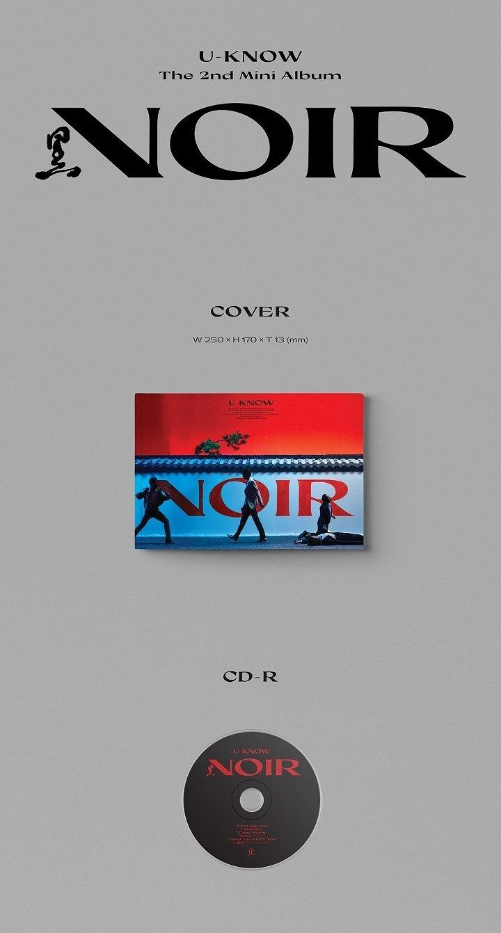 U-KNOW - Noir - Uncut Version (2nd Mini Album)