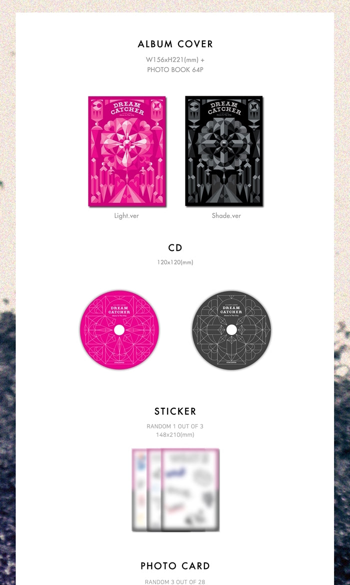 Dreamcatcher - Alone in the City (Mini-Album) - J-Store Online