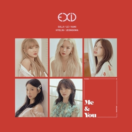 EXID - Me & You (Mini Album) - Pre-Order