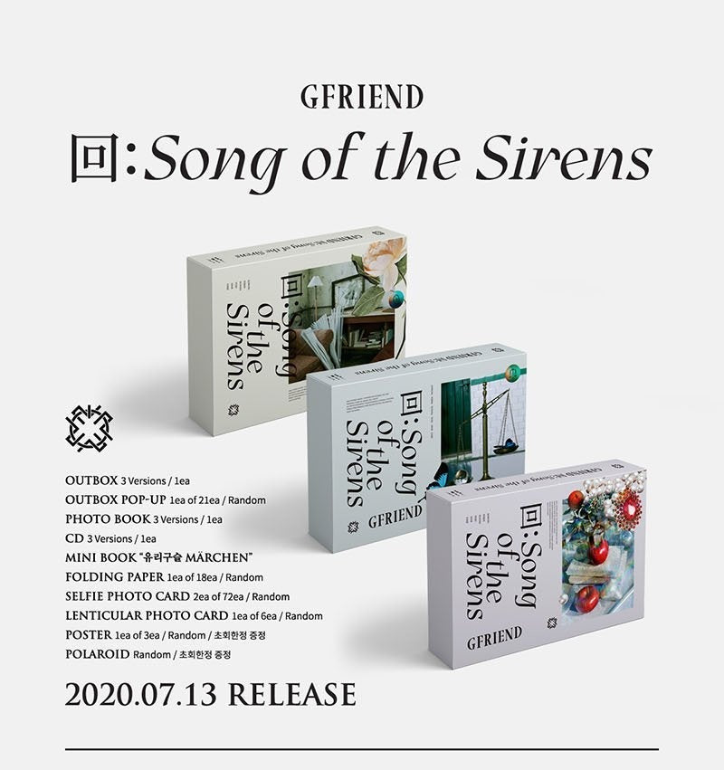 Gfriend - 回:Song Of The Sirens - J-Store Online