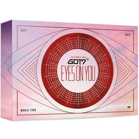 GOT7 - GOT7 2018 World Tour (Eyes on You) - 3 DVDs - Pre-Order