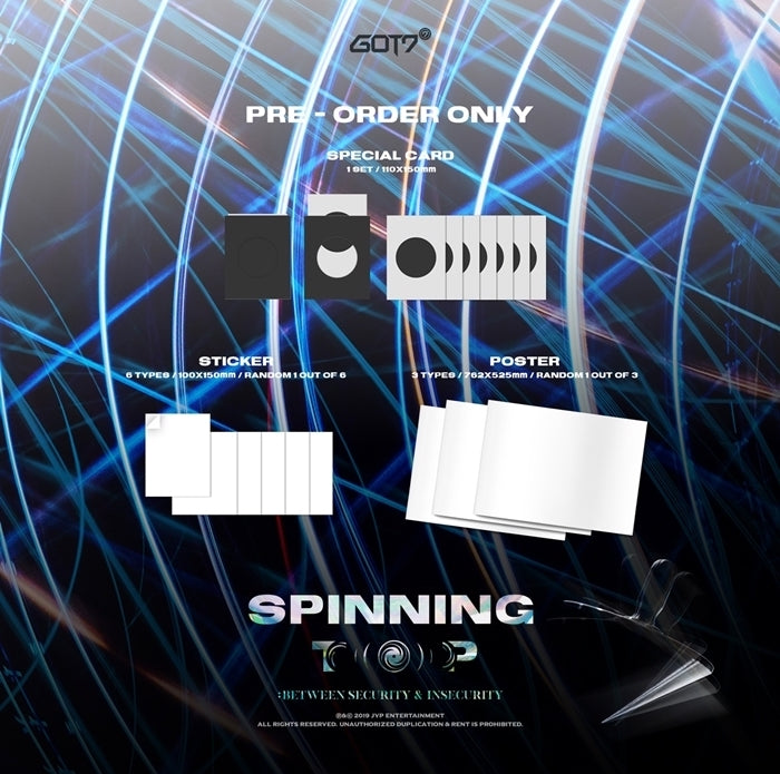 GOT7 - Spinning Top - Pre-Order