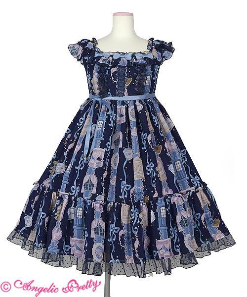 ANGELIC PRETTY - Girly Room JSK (Navy)