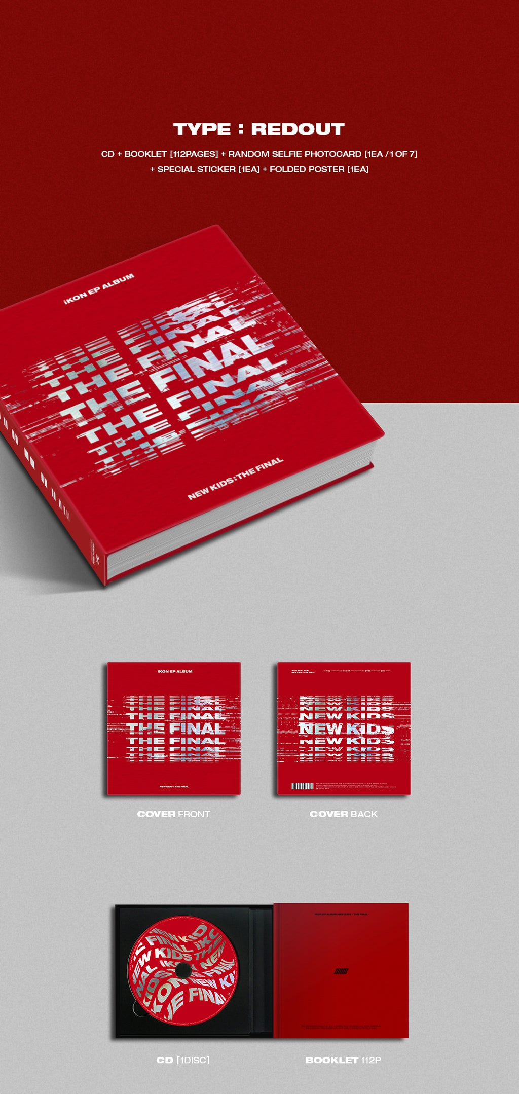 iKON - New Kids: The Final (rote Verison) - J-Store Online