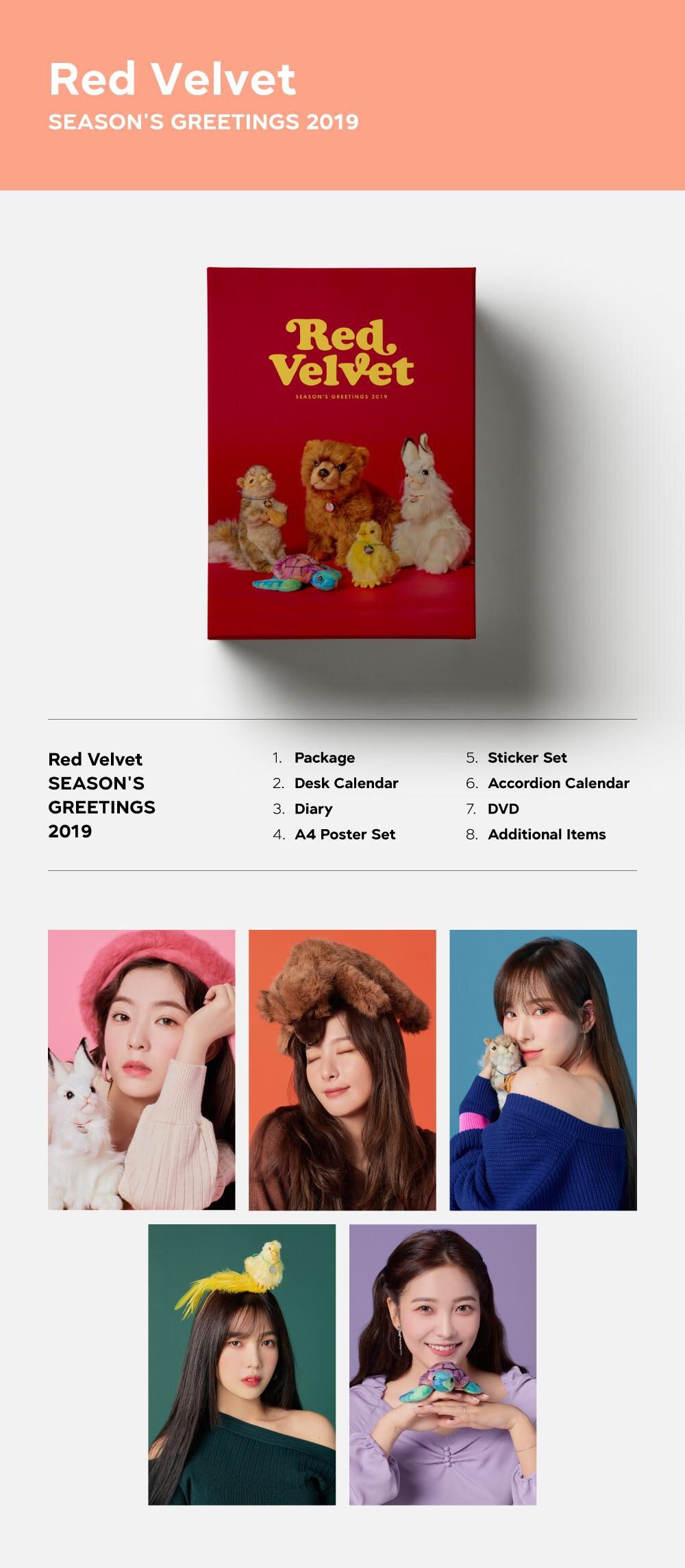 Red Velvet - 2019 Season's Greetings - Pre-Order