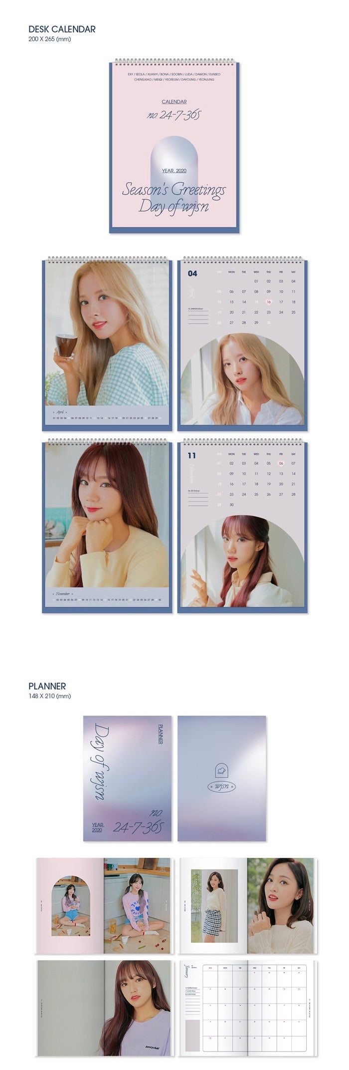 WJSN - 2020 Season's Greetings - Pre-Order
