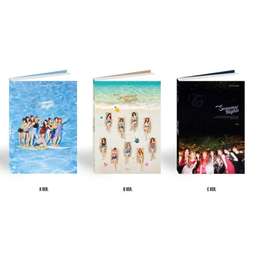 Twice - Summer Nights (2nd Special Album) - J-Store Online