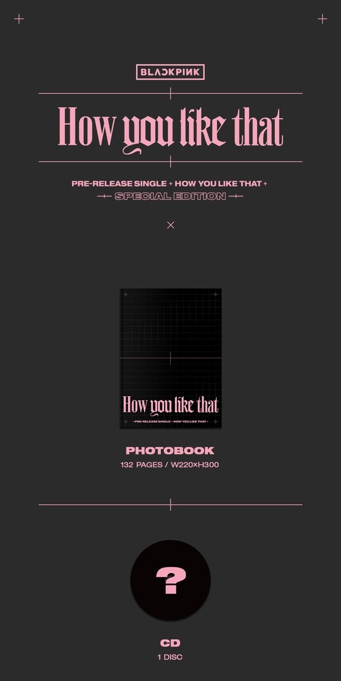 BLACKPINK - How You Like That - Special Edition - J-Store Online