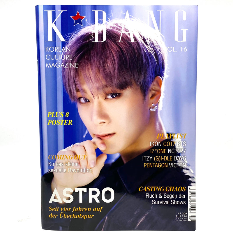 K-BANG Vol. 16 - Nr. 02/20 - Moonbin Edition - J-Store Online