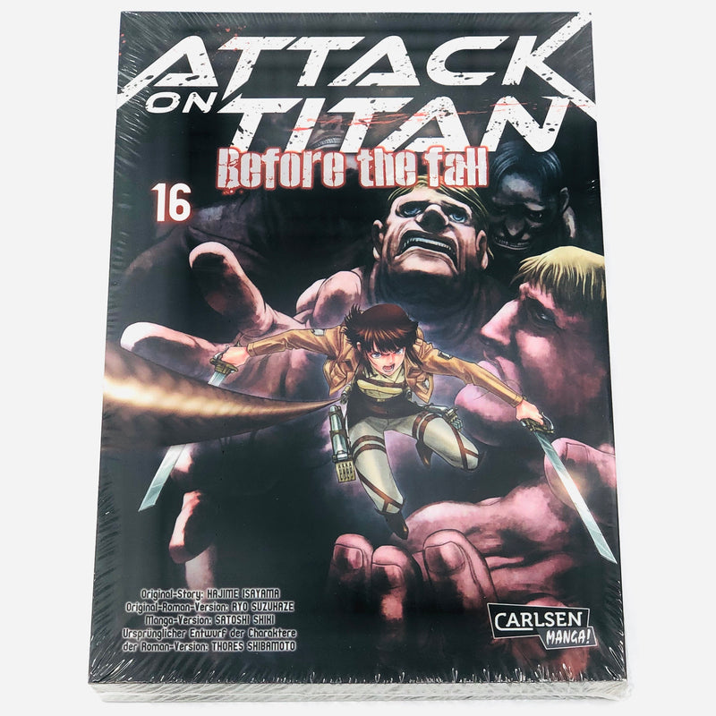 Attack on Titan : Before the Fall - Band 16 - J-Store Online