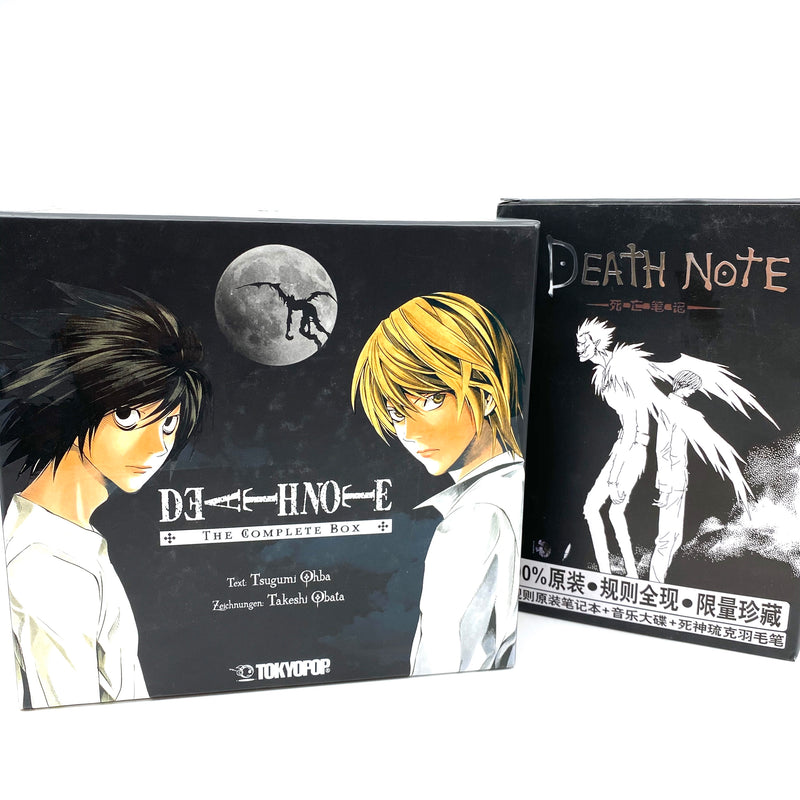 Death Note Manga Box + Notebook + CD (Limited Edition) - J-Store Online