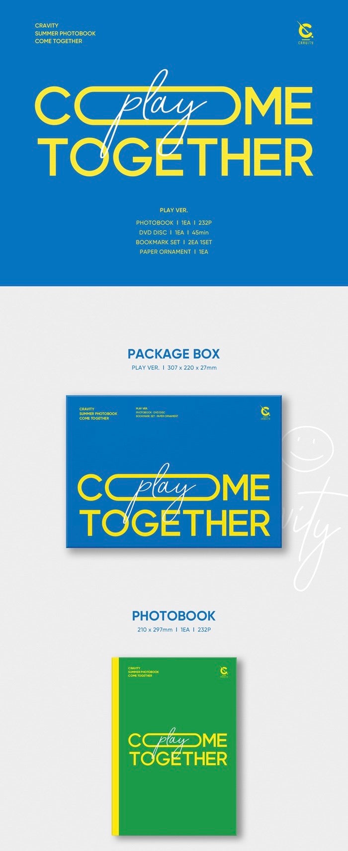 Cravity - Summer Photobook - Come Together - Play Version - Pre-Order - J-Store Online