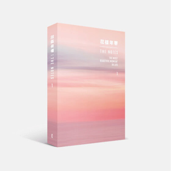 BTS - The Notes (1) - The Most Beautiful Moment in Life (English Version) - J-Store Online