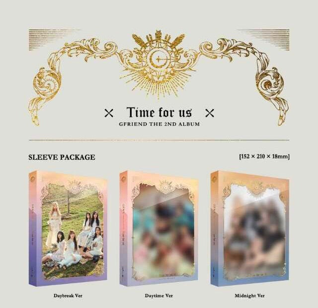 Gfriend - Time for Us (Volume 2) - Pre-Order