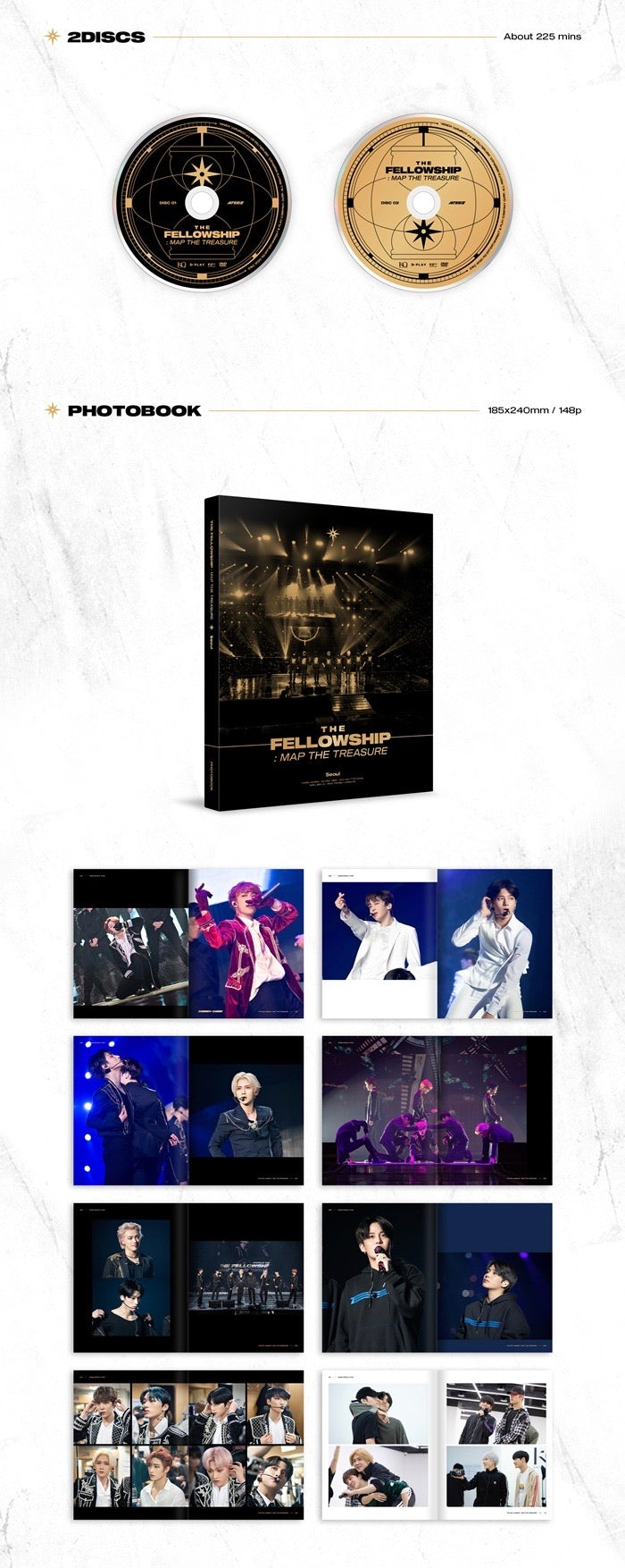 Ateez - Ateez World Tour The Fellowship: Map The Treasure Seoul DVD - Pre-Order