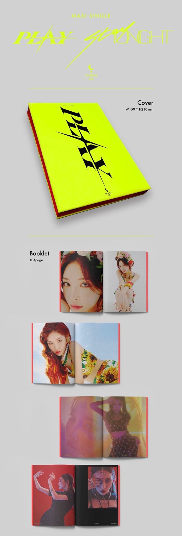 Chung Ha - Maxi Single - J-Store Online