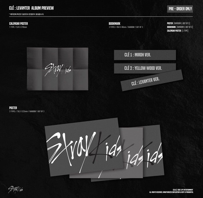 Stray Kids - CLE : LEVANTER (Limited Edition) - Pre-Order