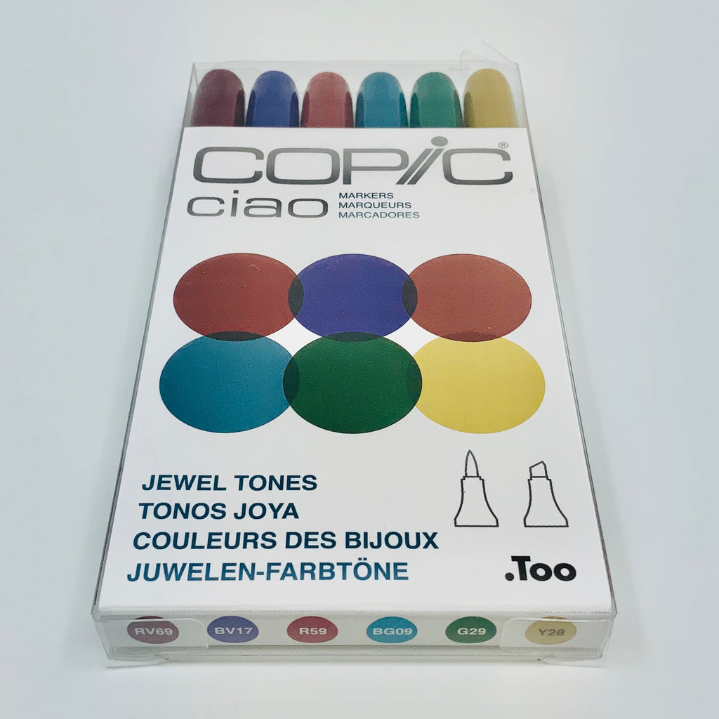 Copic ciao - Marker auf Alkoholbasis - 6 Stifte Set - J-Store Online