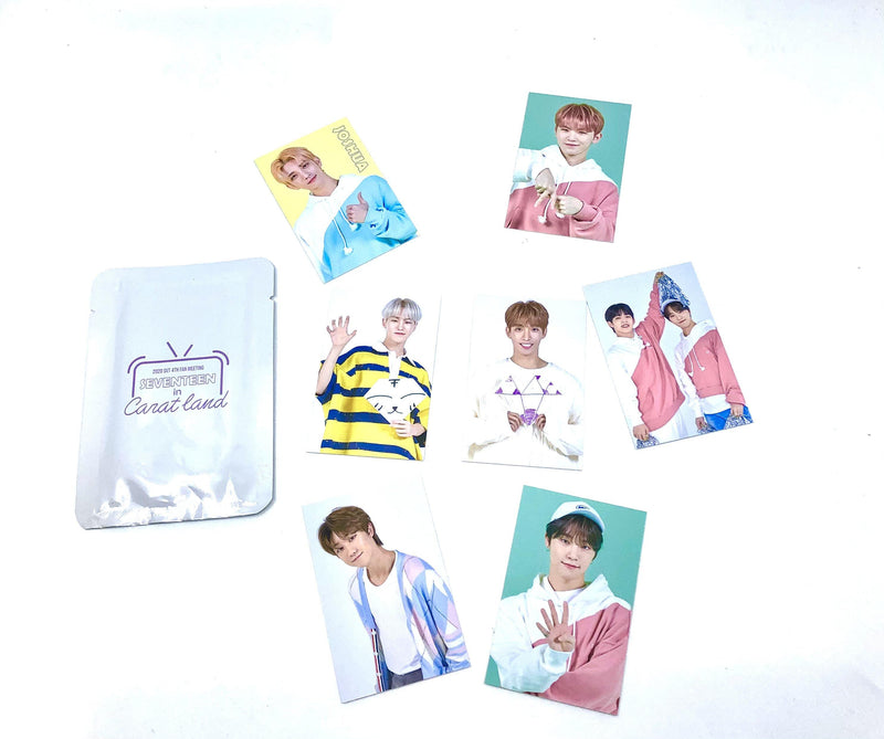 Official SEVENTEEN - Seventeen in Carat Land 4th Fan Meeting -Trading Cards Set (7 Karten)
