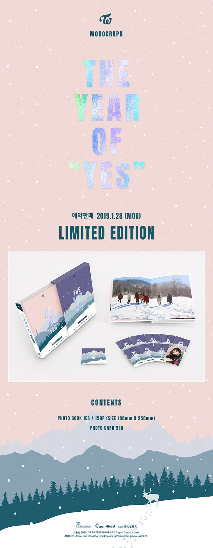 TWICE - Twice Monograph (Year of Yes) - Limited Edition - Jetzt lieferbar